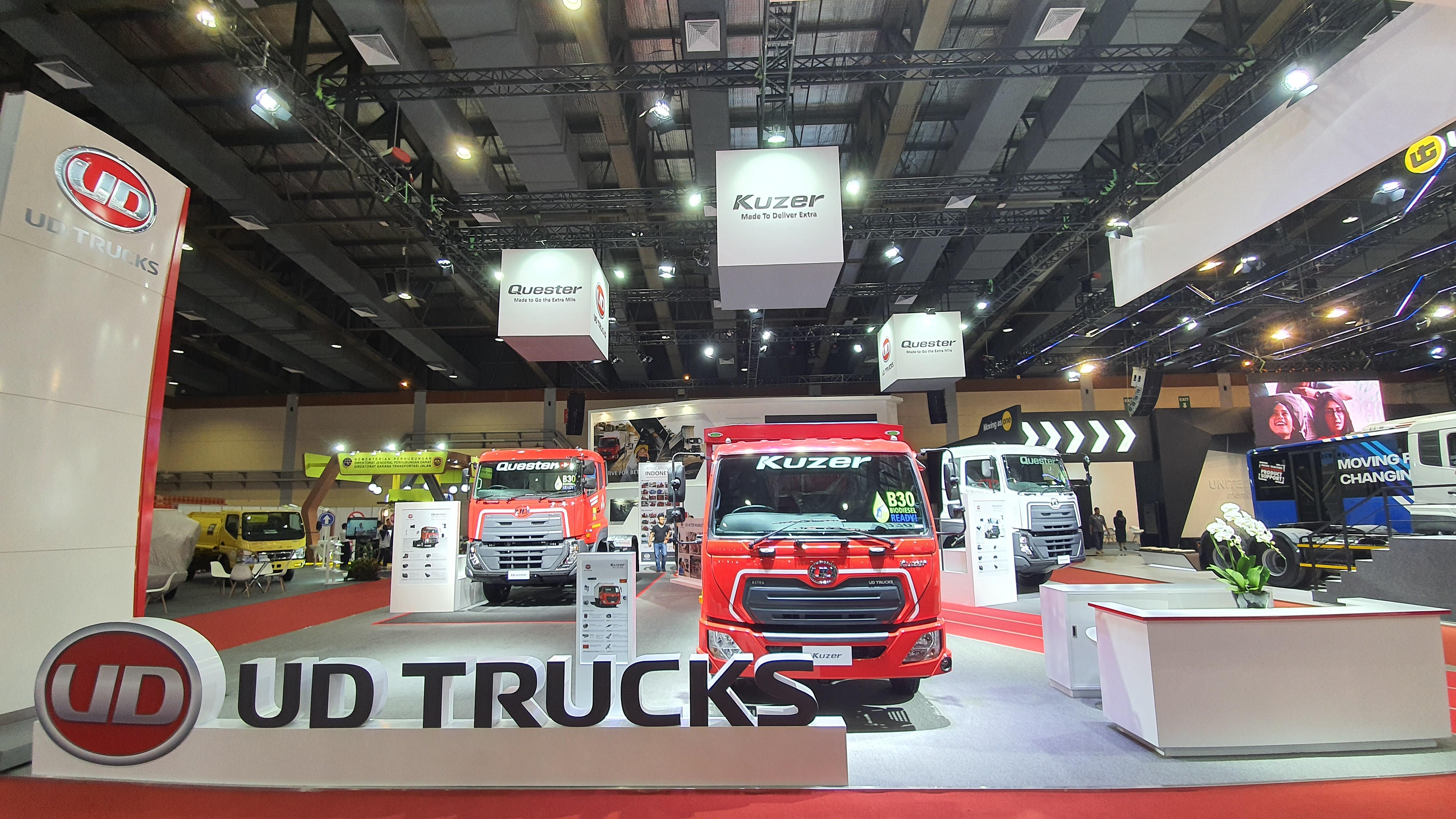 UD Trucks Pamerkan Kuzer & New Quester pada Ajang GIICOMVEC 2020
