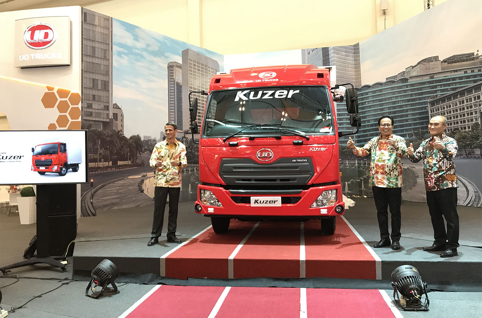 Kuzer, soon rolling the street this year