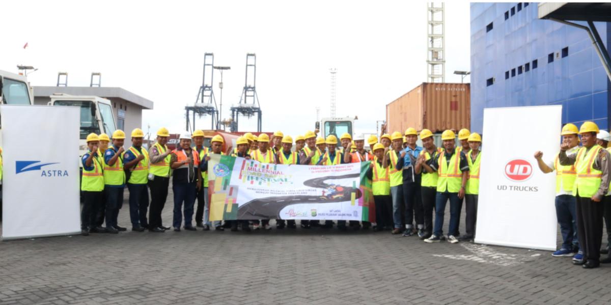 Astra UD Trucks Terus Dukung Keamanan Pengemudi Truk bersama Kepolisian Republik Indonesia